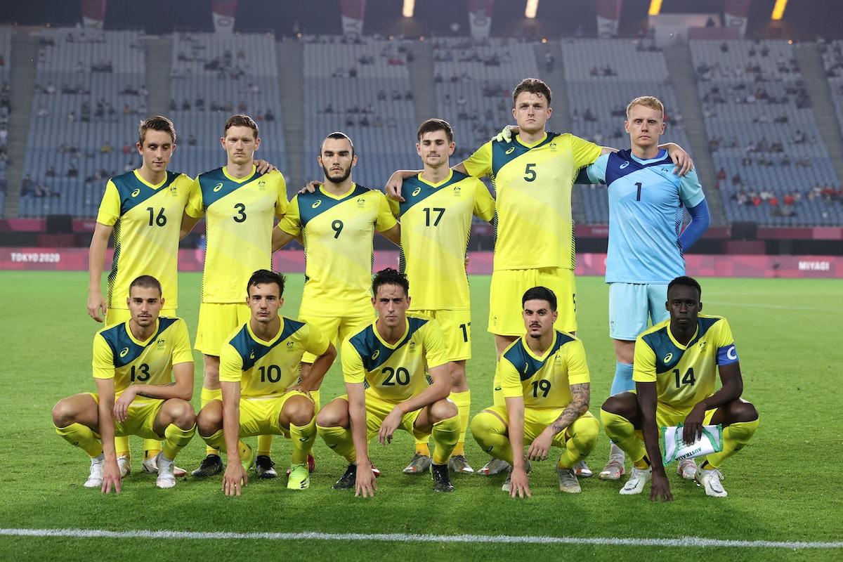RIFU, MIYAGI, JAPAN - JULY 28: Players of Team Australia pose for a team photograph prior to the Men...