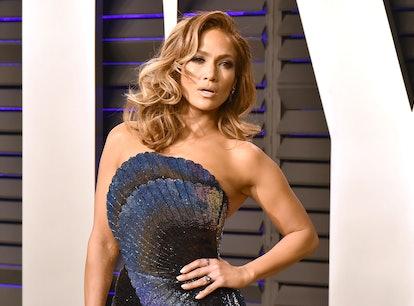 Jennifer Lopez's relationship history includes five engagements.