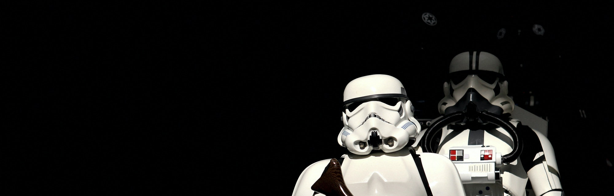 """Fans dressed as Stormtroopers from """"Star Wars"""" participate in a gathering to celebrate """"Internationa..."""