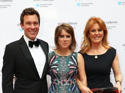 Sarah Ferguson stands by Princess Eugenie's husband Jack Brooksbank