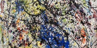 Reflection of the Big Dipper (paint on canvas) by Jackson Pollock (1912-1956) was an influential Ame...