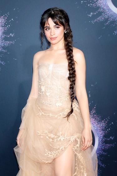 LOS ANGELES, CALIFORNIA - NOVEMBER 24: (EDITORS NOTE: Image has been digitally retouched) Camila Cab...