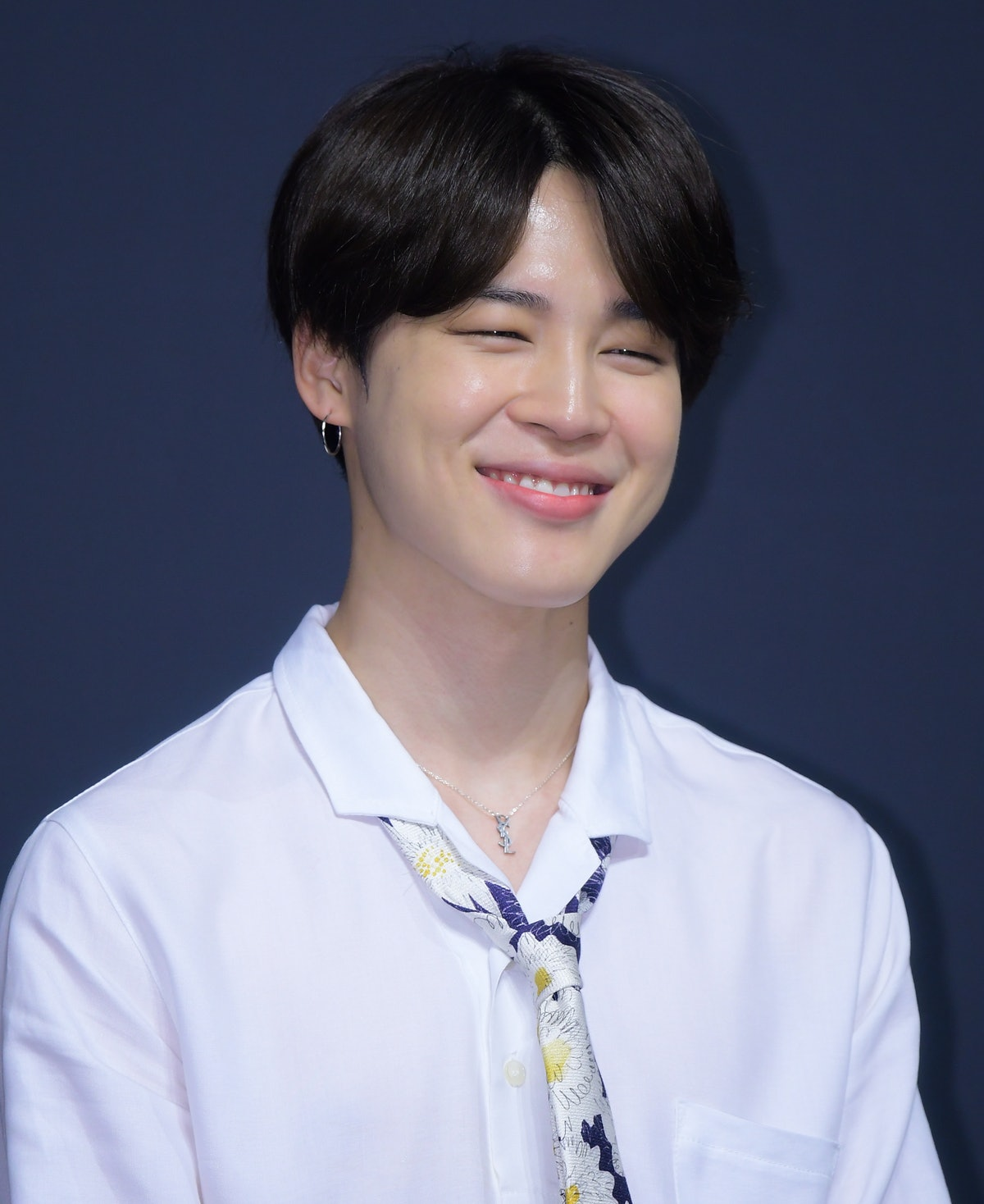 SEOUL, SOUTH KOREA - MAY 24: Jimin of BTS attends press conference for the BTS's Third Album 'LOVE Y...