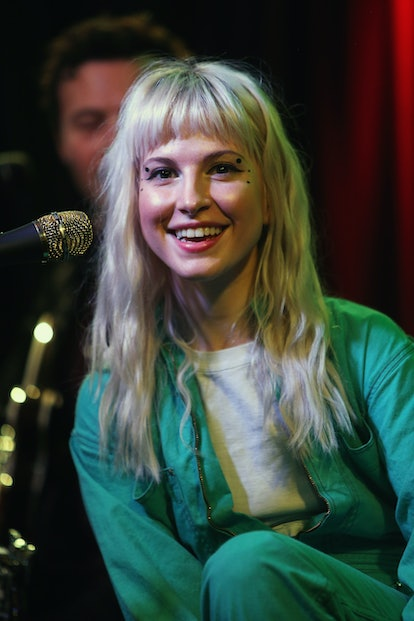 One of Hayley Williams' best hair colors is the blonde hue she wore after the release of Paramore's ...