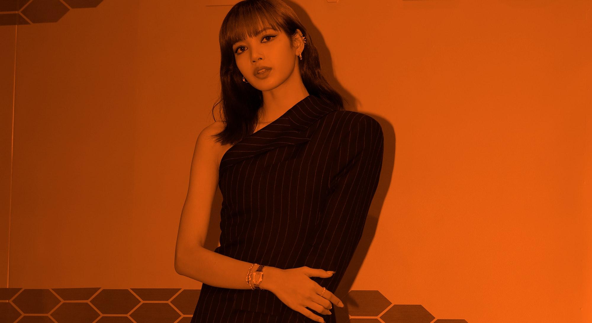 SEOUL, SOUTH KOREA - OCTOBER 29: Lisa aka Lalisa Manoban of South Korean girl group BLACKPINK attend...