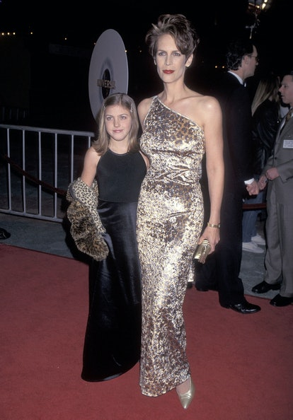 Actress Jamie Lee Curtis and daughter Annie Guest in 1997.