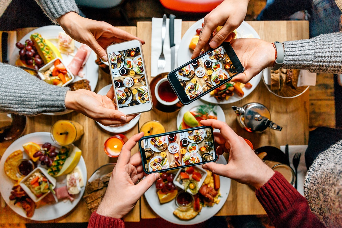 Tap into your inner foodie by using one of these Instagram caption for your lunch date.
