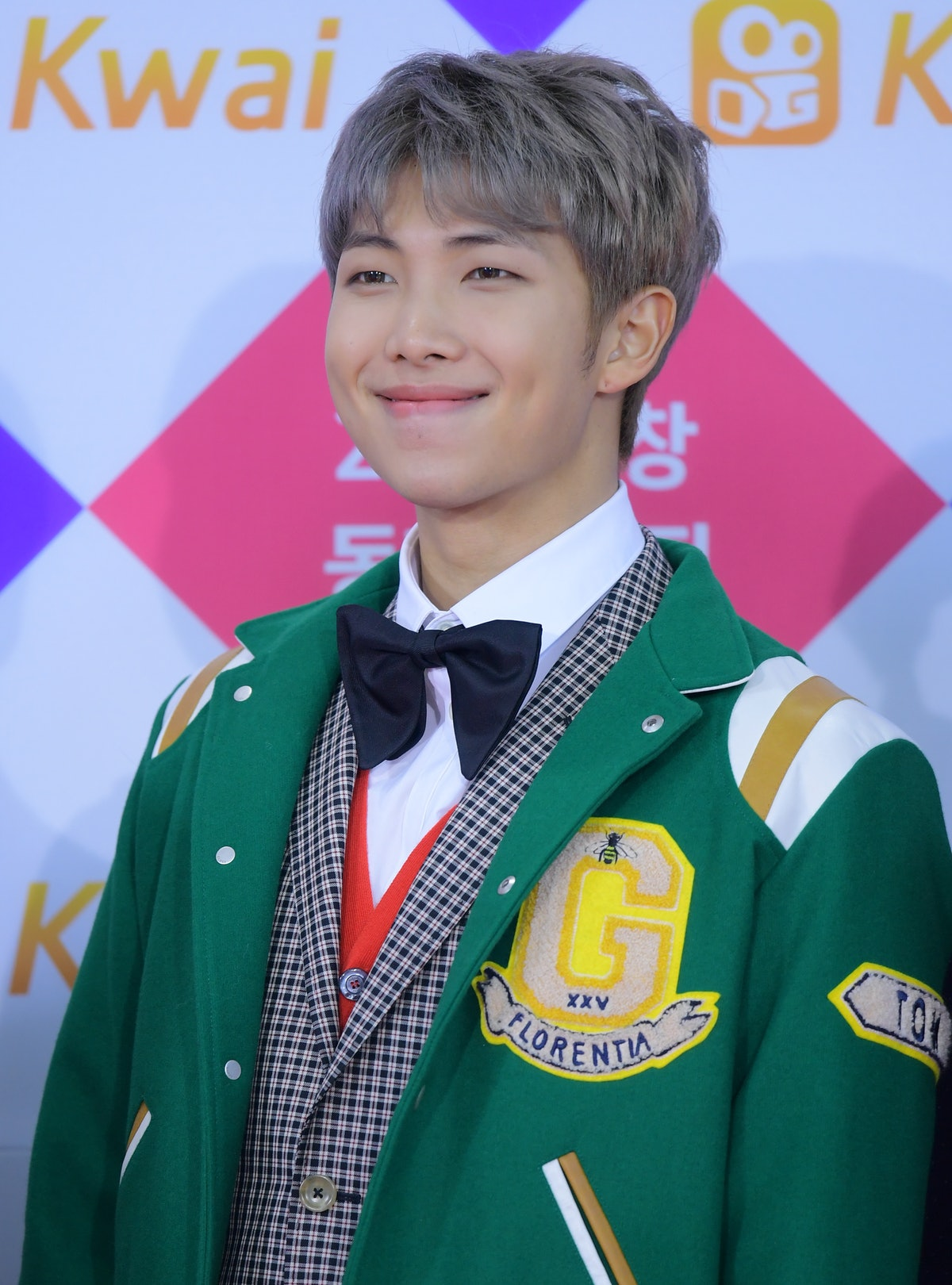 SEOUL, SOUTH KOREA - DECEMBER 25: RM of BTS attends the 2017 SBS Gayo Daejeon at Gocheok Sky Dome on...
