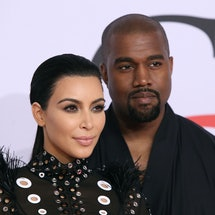 NEW YORK, NY - JUNE 01:  Kim Kardashian West and Kanye West attend the 2015 CFDA Awards at Alice Tul...