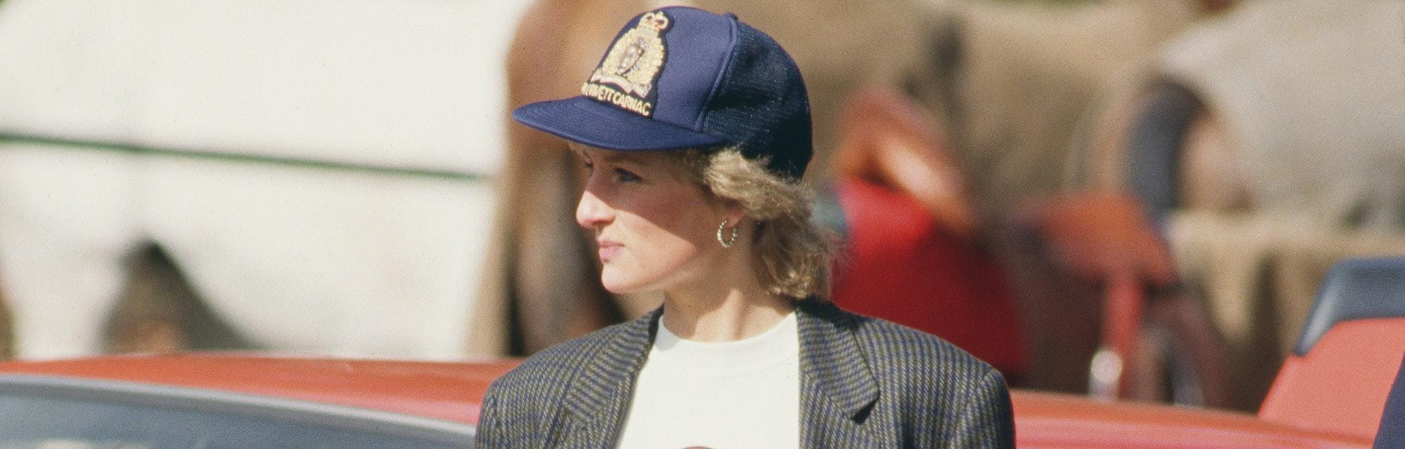 Princess Diana had some great fall looks.