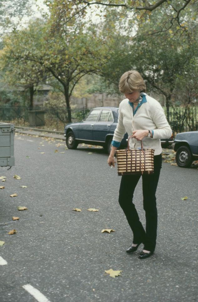 Princess Diana loved a v-neck sweater.