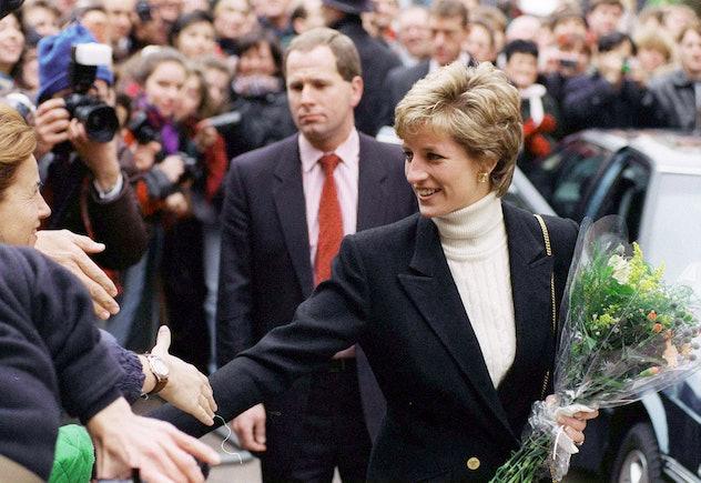 Princess Diana went full equestrian.