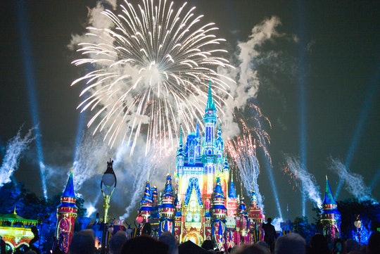 LAKE BUENA VISTA, FL - JULY 01: A stunning firework show is held at the Magic Kingdom Park in Walt D...