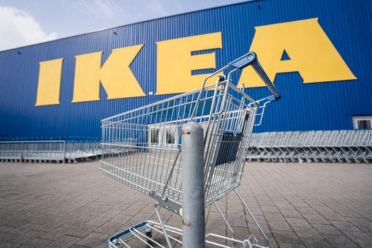17 March 2020, Hessen, Wallau: Until further notice, the branch of the furniture chain Ikea at the l...