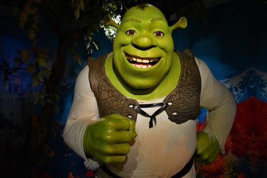A figure of Shrek