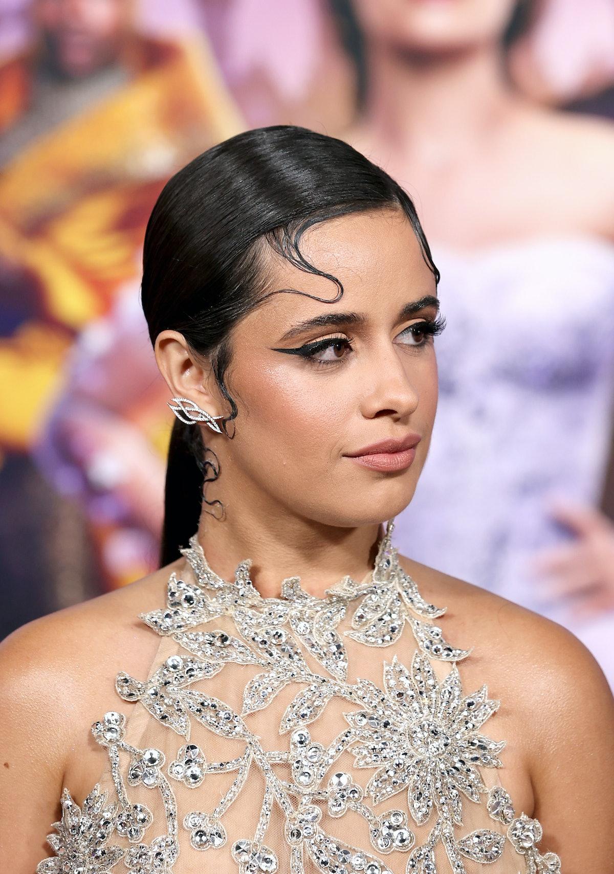 LOS ANGELES, CALIFORNIA - AUGUST 30: Camila Cabello attends the Los Angeles Premiere of Amazon Studi...