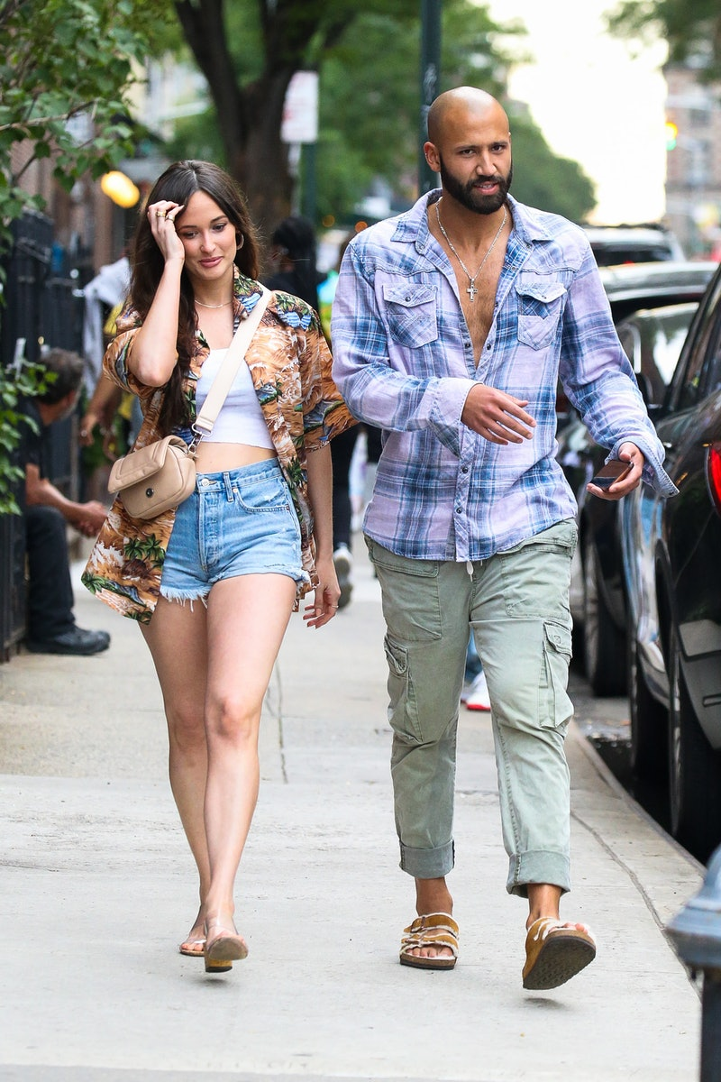 Kacey Musgraves and Cole Schafer in June 2021 in New York City.