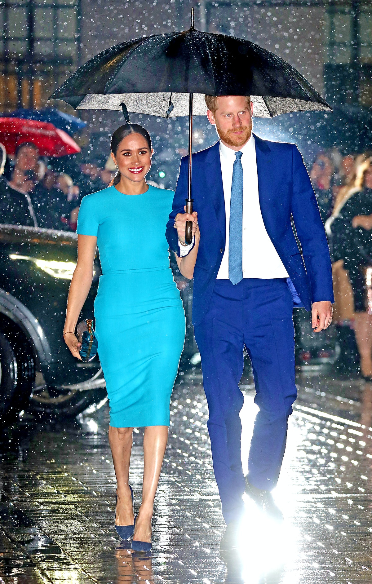 The Duke and Duchess of Sussex attend The Endeavour Fund Awards in London, England in March 2020.
