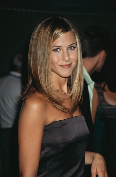 """American actress Jennifer Aniston attends the """"Friends Helping Friends"""" Gala Ball in Beverly Hills, ..."""