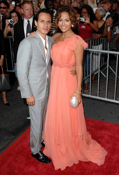 Marc Anthony and Jennifer Lopez were married.