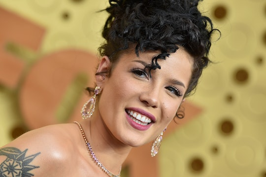 LOS ANGELES, CALIFORNIA - SEPTEMBER 22: Halsey attends the 71st Emmy Awards at Microsoft Theater on ...