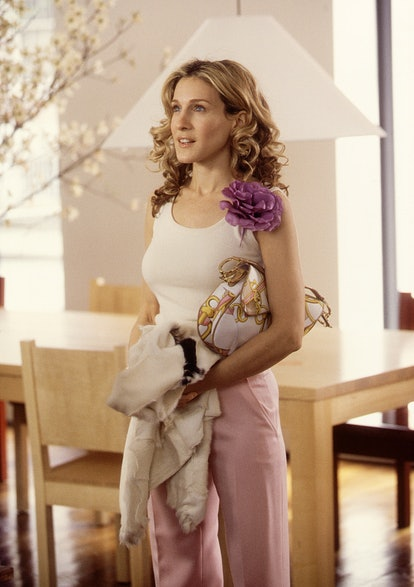"""382260 06: Actress Sarah Jessica Parker Stars In The Comedy Series """"Sex And The City"""" Now In Its Thi..."""
