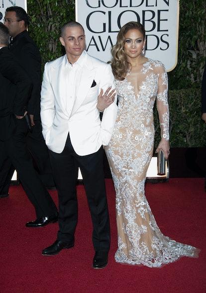 Jennifer Lopez and Casper Smart dated.