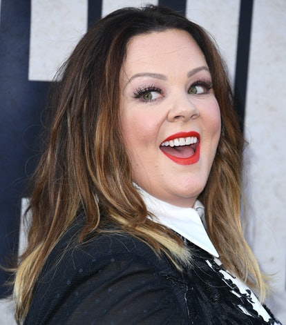 HOLLYWOOD, CALIFORNIA - AUGUST 05: Melissa McCarthy arrives at the Premiere Of Warner Bros Pictures'...