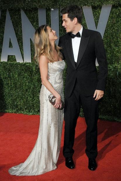 February 22, 2009 West Hollywood, Ca.; Jennifer Aniston and John Mayer; Vanity Fair Oscar Party 2009...