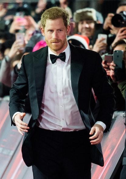 Celebrity Virgo Prince Harry attends event.