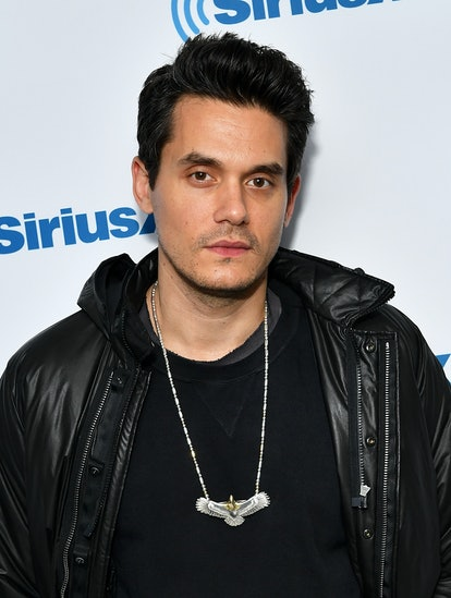 NEW YORK, NY - MAY 13:  (EXCLUSIVE COVERAGE) Singer/songwriter John Mayer visits SiriusXM Studios on...