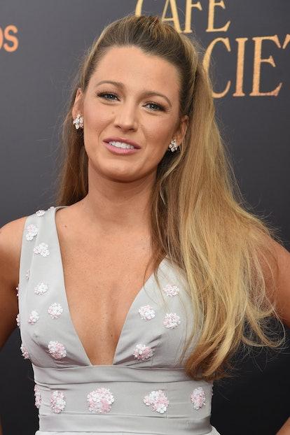 Celebrity Virgo Blake Lively attends red carpet event.