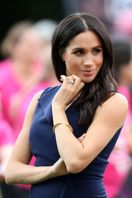 Meghan, Duchess of Sussex attends a reception at Government House on October 18, 2018 in Melbourne, ...