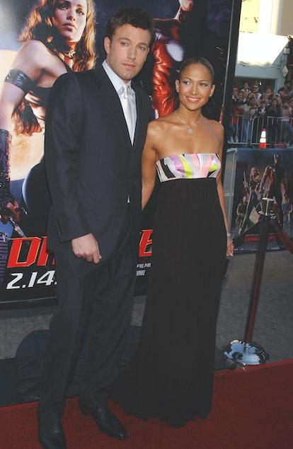 Ben Affleck and Jennifer Lopez were engaged.