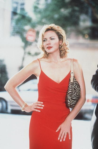 """Kim Cattrall stars in """"Sex And The City"""" (""""Ex And The City"""" episode). 1999 Paramount Pictures"""
