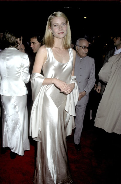 Gwyneth Paltrow at the Paris Theater in New York City, New York (Photo by Ron Galella, Ltd./Ron Gale...