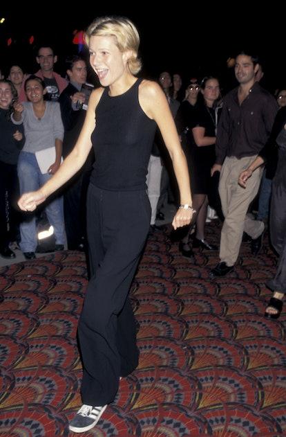 """Gwyneth Paltrow during """"Boogie Nights"""" New York City Premiere at Life in New York City, New York, Un..."""