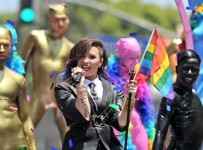 Demi Lovato realized they're LGBTQ