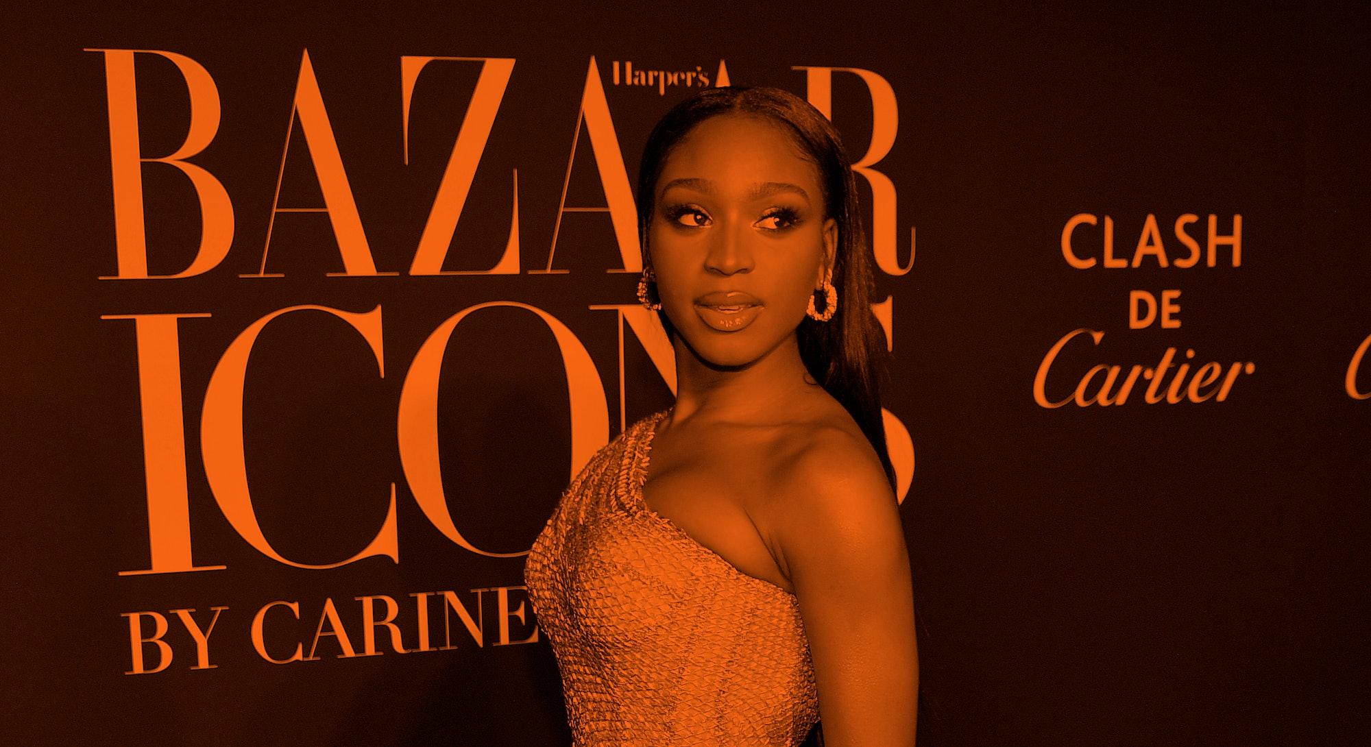 NEW YORK, NEW YORK - SEPTEMBER 06: Singer Normani attends the 2019 Harper's Bazaar ICONS on Septembe...