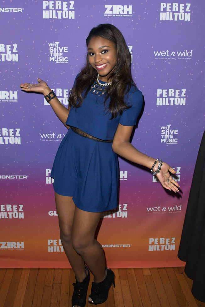 NEW YORK, NY - AUGUST 24: Normani Kordei of Fifth Harmony attends Perez Hilton's One Night In Brookl...