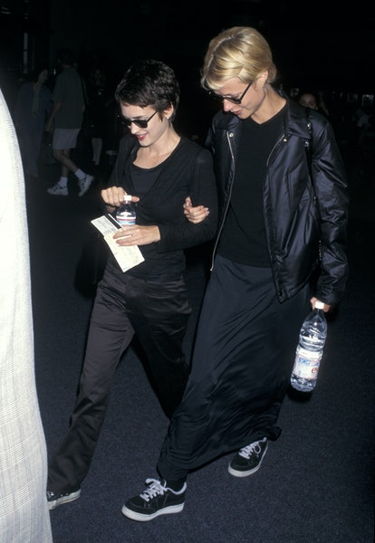 Winona Ryder and Gwyneth Paltrow (Photo by Jim Smeal/Ron Galella Collection via Getty Images)