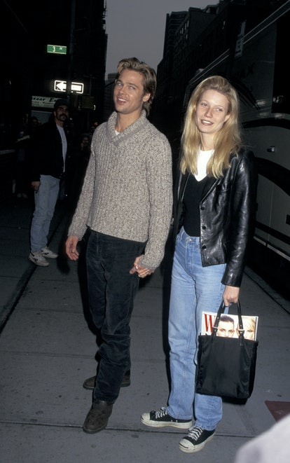 Brad Pitt and Gwyneth Paltrow (Photo by Ron Galella/Ron Galella Collection via Getty Images)