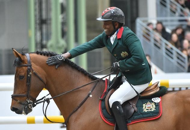 Abdelkebir Ouaddar is an equestrian from Morocco.