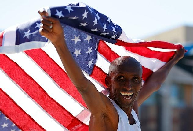 Abdi Abdirahman is an Olympic long distance runner.