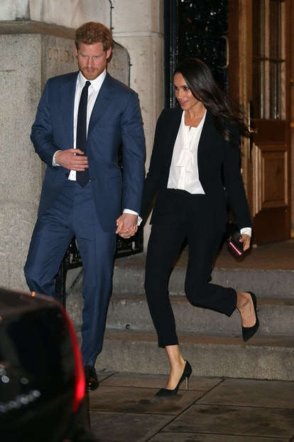 Meghan Markle and Prince Harry's complementary outfits prove they are always in sync when it comes t...
