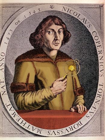 Mikolaj Kopernik (February 19, 1473 - May 24, 1543) Polish astronomer, creator of the heliocentric s...