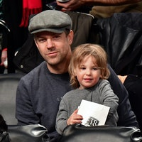 "Jason Sudeikis' son calls him ""Dada."""