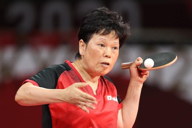Ni Xialian is a table tennis player.