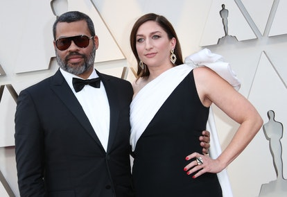 HOLLYWOOD, CA - FEBRUARY 24: Jordan Peele and Chelsea Peretti attend the 91st Annual Academy Awards ...