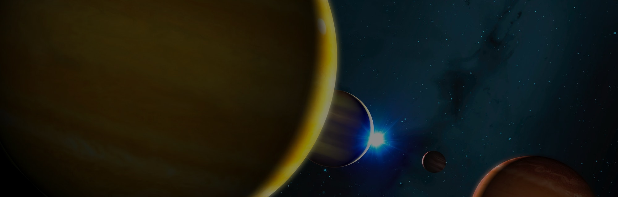 Four planets locked in a perfect rhythm around a nearby star (HR 8799) are destined to be pinballed ...